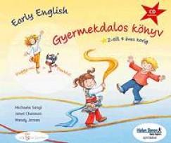 Early English - Gyermekdalos könyv CD-vel (2-4 éves korig)