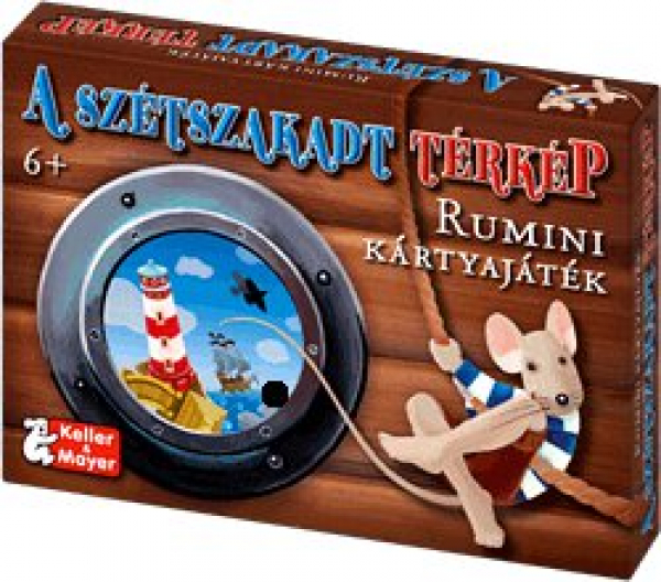 A szétszakadt térkép - Rumini kártyajáték