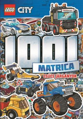LEGO City - 1001 Matrica - Csúcs járgányok