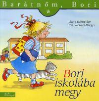 Bori iskolába megy