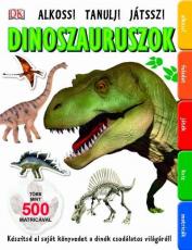 Dinoszauruszok - Több mint 500 matricával