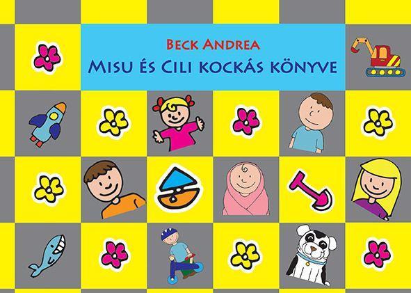 Misu és Cili kockás könyve - SÁRGA-SZÜRKE
