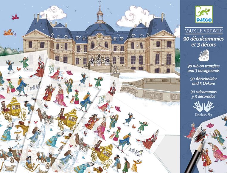 Vaux-le-Viconte-i kastély - matricás képkirakó