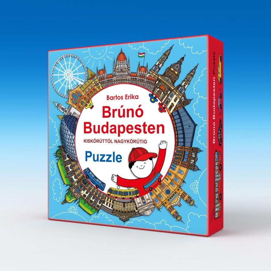 Brúnó Budapesten - Kiskörúttól Nagykörútig - Puzzle