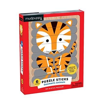 Puzzle Sticks - Geometriai állatok
