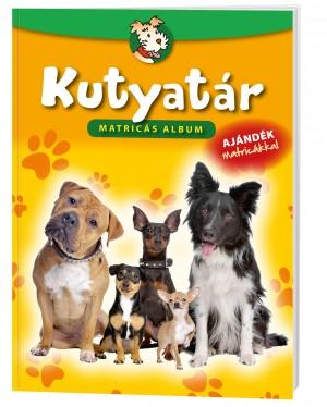Kutyatár matricás album - Ajándék csomag matricával