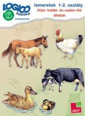 LOGICO Piccolo 3461. - Ismeretek 1-2. osztály: Házi-, hobbi- és vadon élő állatok