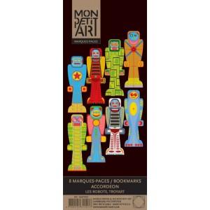 Könyvjelző 8 db - Robotok