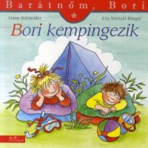 Bori kempingezik - Barátnőm, Bori füzetek