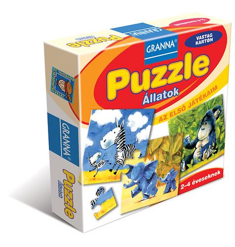 Puzzle - Állatok