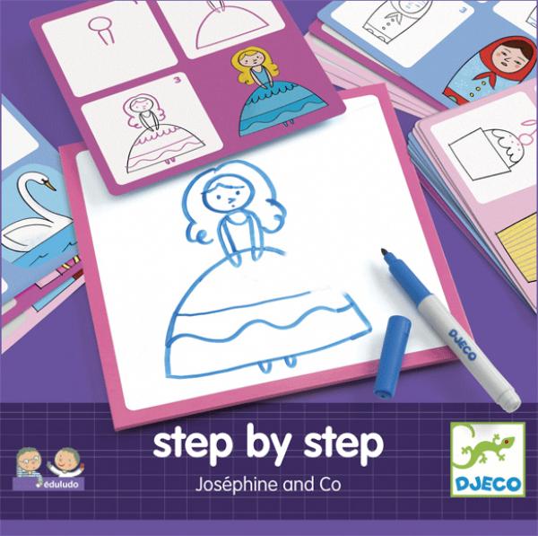 Rajzolás lépésről lépésre - Hercegnő