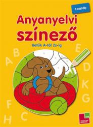 Anyanyelvi színező - Betűk A-tól Zs-ig