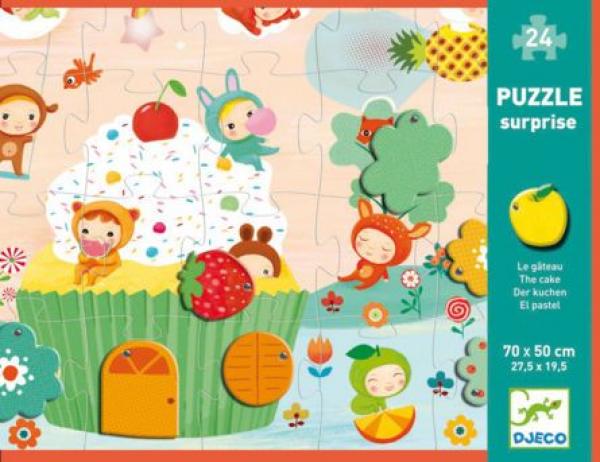 Óriás Puzzle - Torta