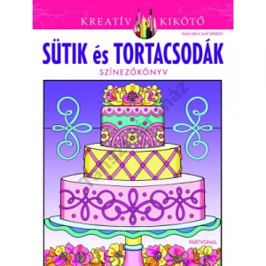 Sütik és tortacsodák - Színezőkönyv