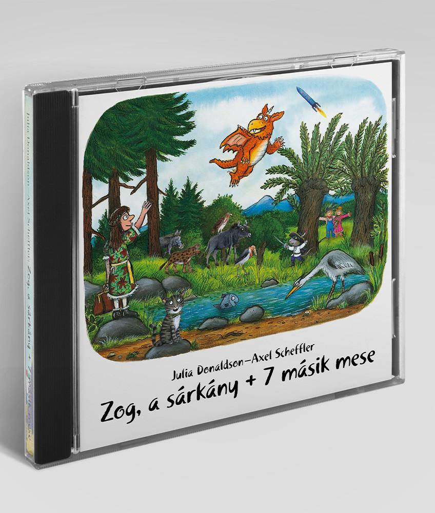 Zog, a sárkány + 7 másik mese - hangoskönyv
