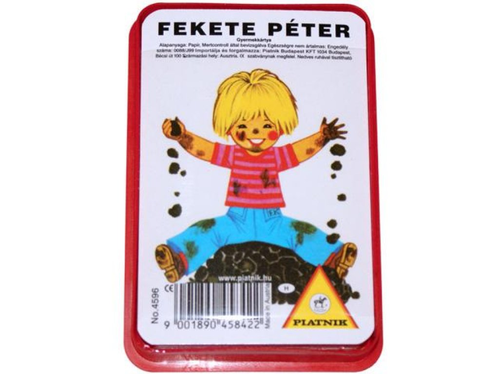Fekete Péter gyerekkártya - Gyerekek
