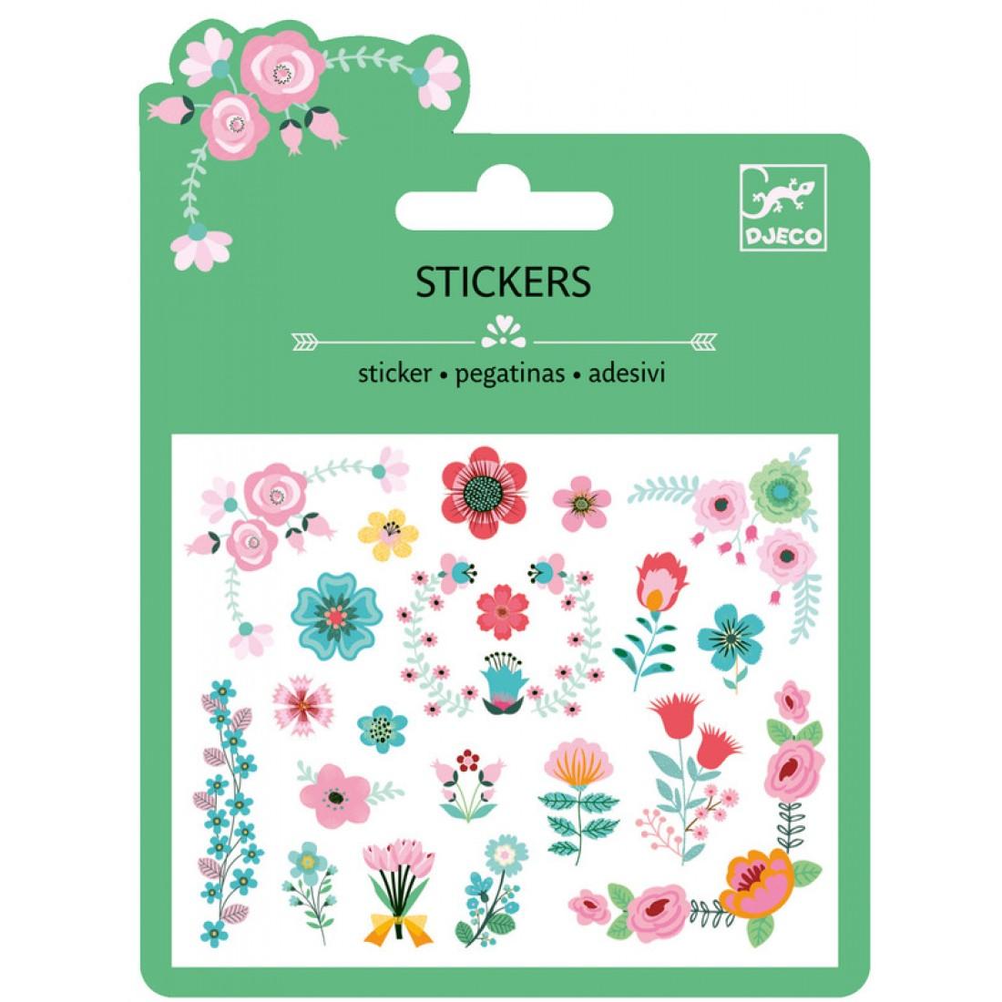 Mini matrica - Virágok