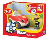 Mini Wow - Blaze, a tűzoltóautó