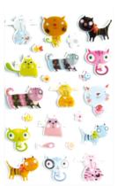 Cooky 3D matricák - Macskák