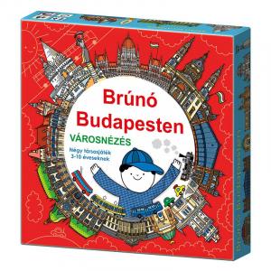 Brúnó Budapesten - Városnézés - Társasjáték