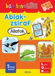 Ablak-Zsiráf könyvek - Állatok  - bambinoLÜK