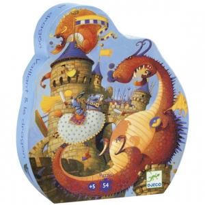 Formadobozos puzzle - Vaillant és a sárkány