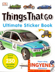 Things That Go - angol nyelvű matricás foglalkoztató