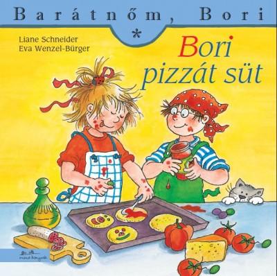 Bori pizzát süt - Barátnőm, Bori füzetek