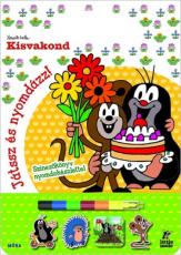 Kisvakond - játssz és nyomdázz! - Színezőkönyv nyomdakészlettel