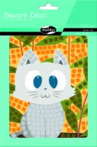 Matrica Mozaik - Cica