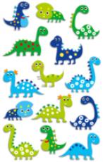 Cooky 3D matricák - Dinoszauroszok