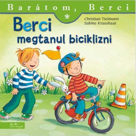 Berci megtanul biciklizni