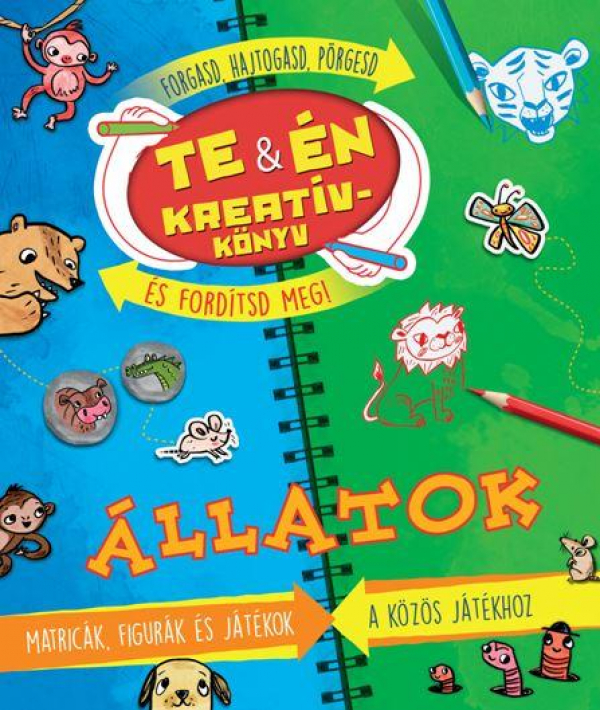 Te és én Kreatívkönyv - Állatok