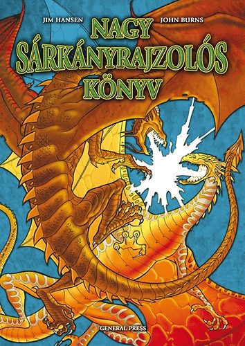 Nagy sárkányrajzolós könyv