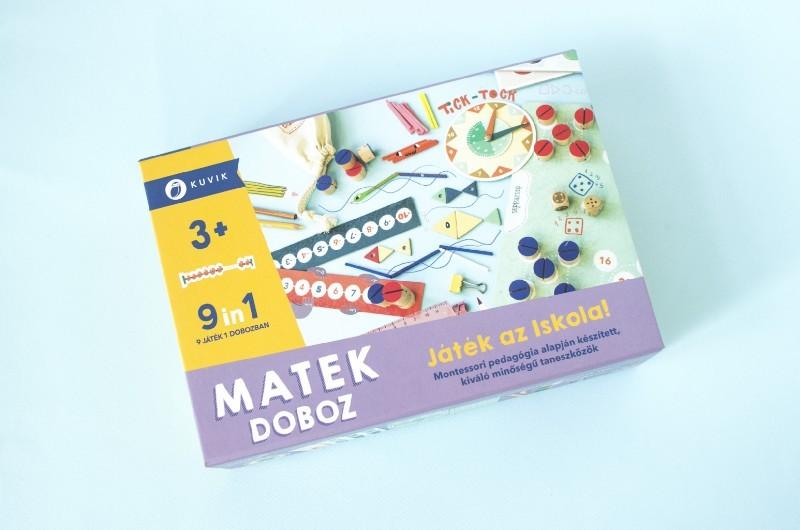 Kuvik - Matek doboz - Játék az iskola!