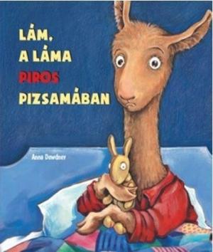 Lám, a láma piros pizsamában