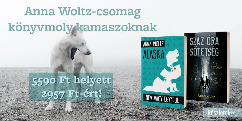 Anna Woltz-csomag 47% kedvezménnyel!