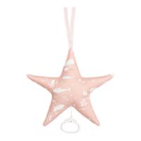 Csillag alakú zenélő játék - óceán - pink