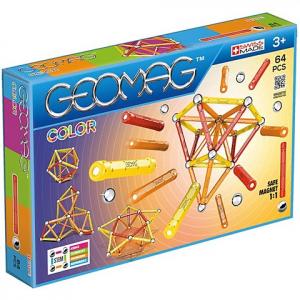 Geomag Color - Mágneses készlet 64 db-os