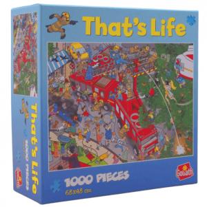 That's life- Tűzoltóság puzzle 1000 db