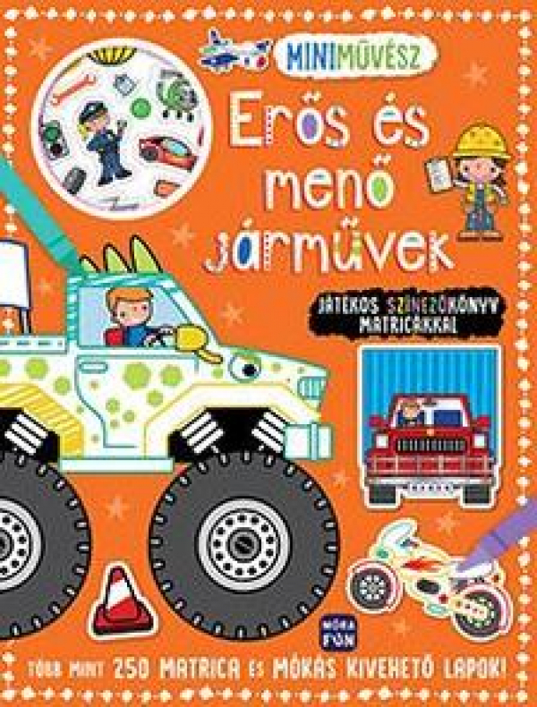 Mini művész - Erős és menő járművek