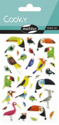 Cooky 3D matricák - Trópusi madarak