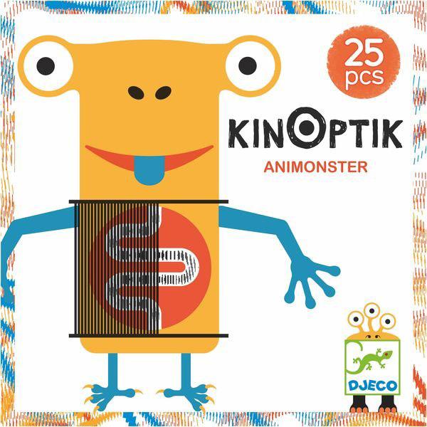 Optikai puzzle - Kinoptik - Szörnyek