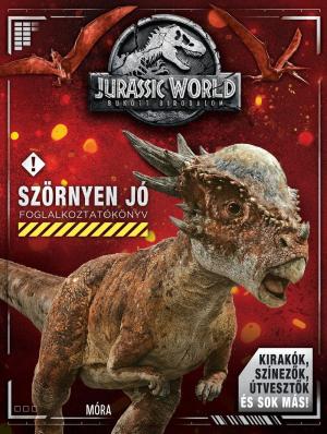 Jurassic World / Bukott Birodalom - Szörnyen jó Foglalkoztatókönyv