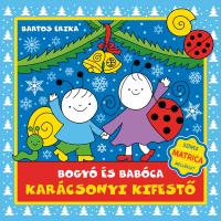 Bogyó és Babóca karácsonyi kifestő