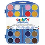 Carioca - Vízfesték dobozban, 24 szín