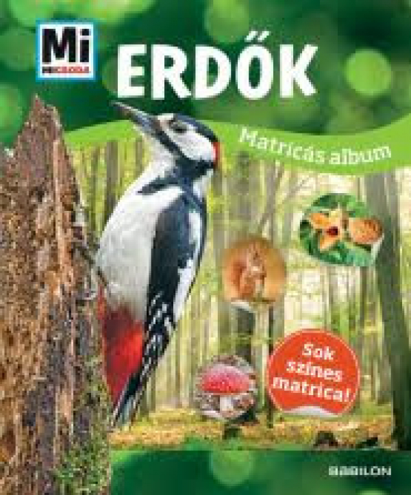 Erdők - Mi Micsoda - Matricás album