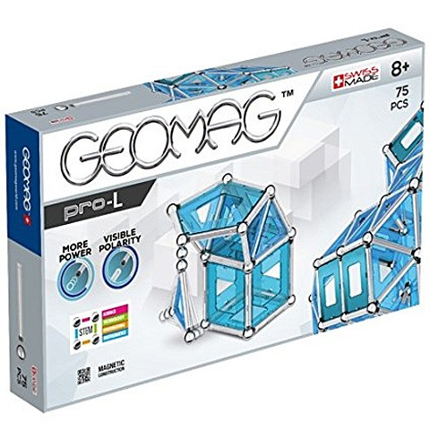 Geomag Pro-L - Mágneses készlet, 75db-os