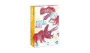 Kereső puzzle - Fedezd fel a dinoszauruszokat!
