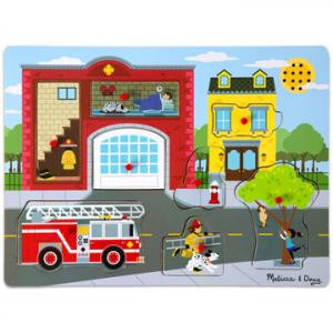 Hangos puzzle - Tűzoltóállomás